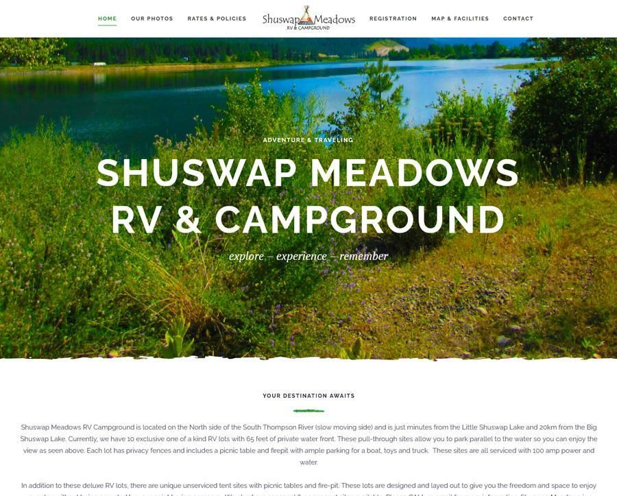 Shuswap Meadows RV & Campground | British Columbia